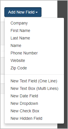 MailMunch custom fields