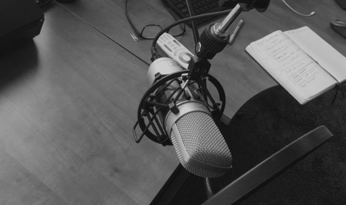 Bloggen of podcasten... of allebei?